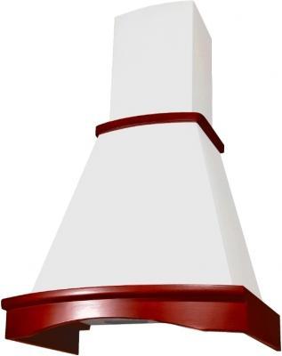 Вытяжка купольная Elikor Ротонда 60 (бежевый/бук махагон) - общий вид