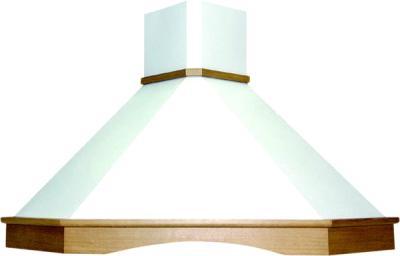 Вытяжка купольная Elikor Форест 90 Beige-Oak Unpainted - общий вид