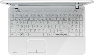 Ноутбук Toshiba Satellite C850-E3W (PSCBYR-09J003RU) - вид сверху