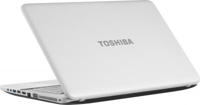 Ноутбук Toshiba Satellite C850-E3W (PSCBYR-09J003RU) - вид сзади