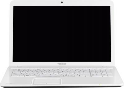 Ноутбук Toshiba Satellite C850-E3W (PSCBYR-09J003RU) - фронтальный вид