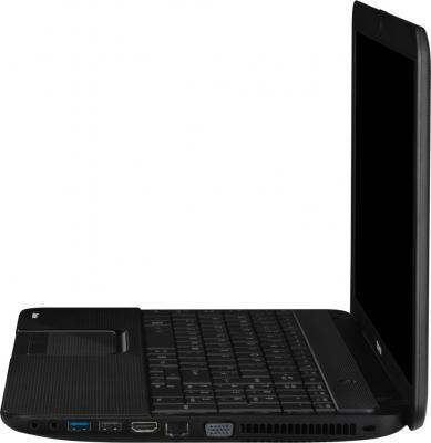 Ноутбук Toshiba Satellite C850-D4K (PSKCAR-06T00GRU) - вид сбоку