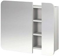 Шкаф с зеркалом для ванной Cersanit Pure S910-001 (белый) -