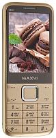 Мобильный телефон Maxvi X800 (золото) -