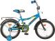 Детский велосипед Novatrack Cosmic 143BL5 (синий) -