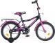 Детский велосипед Novatrack Cosmic 143BK5 (черный) -