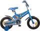 Детский велосипед Novatrack Transformer 125BL4 (синий) -