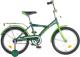 Детский велосипед Novatrack Forest 181GN5 (зеленый) -