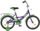 Детский велосипед Novatrack Urban 163VL6 (фиолетовый) -