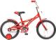 Детский велосипед Novatrack Delfi 124RD5 (красный) -