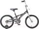 Детский велосипед Novatrack Delfi 124GR5 (серый/серебристый) -