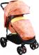 Детская прогулочная коляска Babyhit Racy (оранжевый с кругами) -