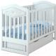 Детская кроватка Miracolo Delux (белый) -