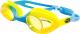 Очки для плавания Sabriasport G440 (желтый/голубой) -