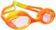 Очки для плавания Sabriasport G440 (оранжевый/желтый) -