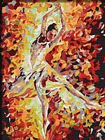 Картина по номерам Menglei Балерина (ME042) -