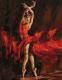 Картина по номерам Menglei В огненном танце (MMC054) -