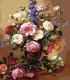 Картина по номерам Menglei Розы и пионы (MMC038) -