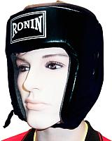 Боксерский шлем Ronin F181 (S, черный) -