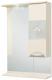 Шкаф с зеркалом для ванной Onika Флорена 62.01 (206208) -