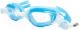 Очки для плавания Sabriasport G869 (голубой/черный) -