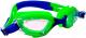 Очки для плавания Sabriasport G869 (салатовый/синий) -