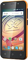 Смартфон Prestigio Wize L3 3403 Duo / PSP3403DUOORANGE (оранжевый) -