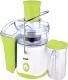 Соковыжималка BBK JC060-H01 (белый/светло-зеленый) -