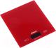 Кухонные весы Saturn ST-KS7810 (красный) -
