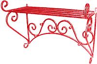Вешалка для одежды Dudo ВННС-001 (красный) -