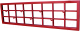 Вешалка для одежды Dudo ВННС-003 (красный) -
