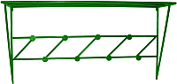 Вешалка для одежды Dudo ВННС-005 (зеленый) -