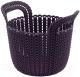 Корзина Curver Knit XS 03671-X66-00 / 230118 (фиолетовый) -