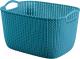 Корзина Curver Knit L 03670-X65-00 / 230814 (морская волна) -