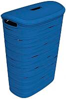 Корзина для белья Curver Ribbon 00746-X08-00 (синий) -