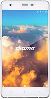 Смартфон Digma Vox S503 4G 16Gb (белый/серебристый) -