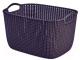 Корзина Curver Knit L 03670-X66-00 / 230117 (фиолетовый) -