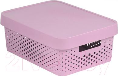 Ящик для хранения Curver Infinity 04753-X51-00 / 229155 (розовый)