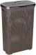 Корзина для белья Curver Natural Style 00709-210-00 / 193009 (темно-коричневый) -