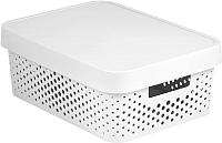 Ящик для хранения Curver Infinity 04753-N23-00 / 229167 (белый) -