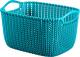 Корзина Curver Knit S 03674-X65-00 / 230810 (морская волна) -