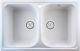 Мойка кухонная Berge BR-7822 (белый) -