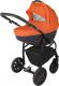 Детская универсальная коляска Adamex Active 2 в 1 (7M/оранжевый) -