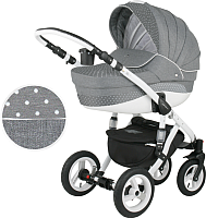 Детская универсальная коляска Adamex Aspena 2 в 1 (341W) -