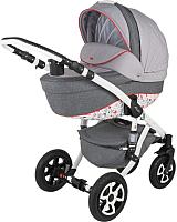 Детская универсальная коляска Adamex Barletta 2 в 1 (Red Dream ) -