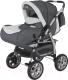 Детская универсальная коляска Adamex Gustaw 2 (серый) -