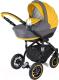 Детская универсальная коляска Adamex Lara 2 в 1 (21М/желтый) -