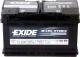 Автомобильный аккумулятор Exide Micro-Hybrid ECM EL800 (80 А/ч) -