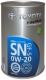 Моторное масло Toyota Motor Oil SN GF-5 0W20 / 0888010506 (1л) -