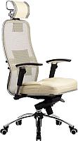 Кресло офисное Metta Samurai SL-3 (бежевый) -